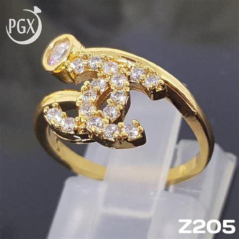 Harga Cincin Chanel Emas cek harga baru z205 cincin branded chanel set perhiasan