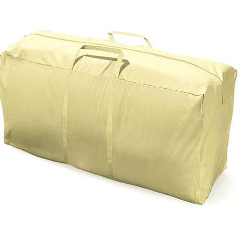 eco cover premium patio cushion storage bag walmart