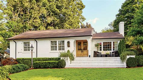 remodeling a little white house a dramatic ranch house renovation southern living