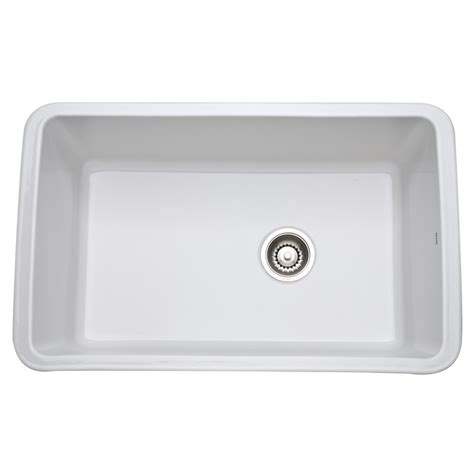 Rohl Kitchen Sinks Rohl Allia Undermount Fireclay Kitchen Sink 6307 00 White Supply
