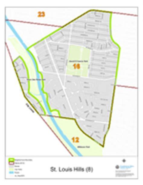 st louis neighborhood map neighborhood profile