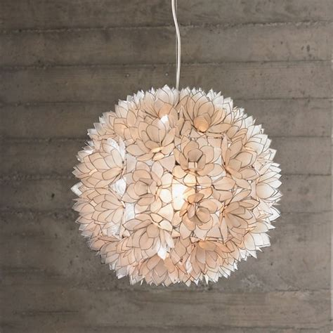 Lotus Flower Pendant Light Vivaterra Lotus Flower Chandelier Eclectic Chandeliers By Vivaterra