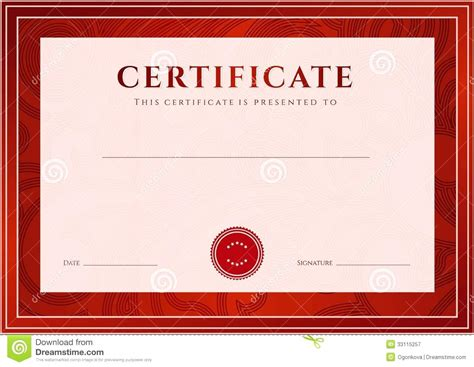 travel certificate template travel certificate template gallery certificate