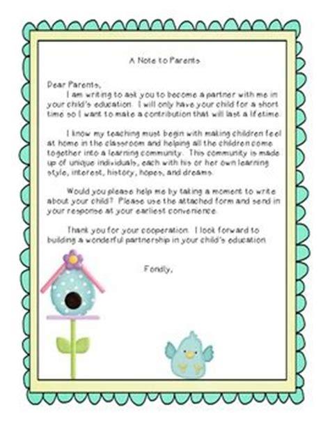 Parent Letter Seesaw Best 25 Parent Questionnaire Ideas On