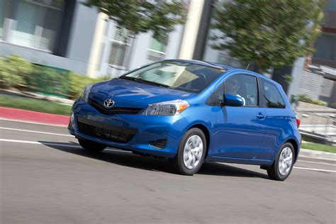 2013 Toyota Yaris 2013 Toyota Yaris Review Ratings Specs Prices And