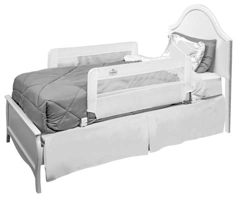 double sided bed rail regalo double sided swing down bedrail bed rails by regalo