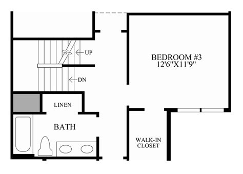floor plans with stairs stairs in floor plan home design