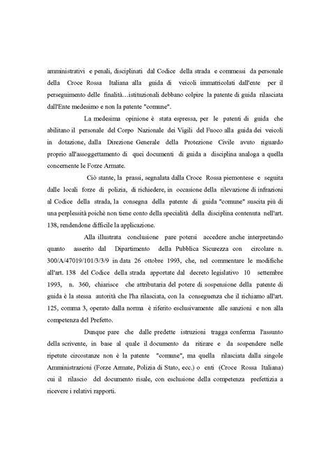 ministero interno patente 12 novembre 2003 circolare ministero dell interno d l