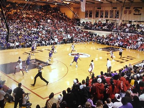 largest high school basketball gyms  indiana