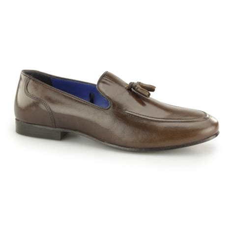 mens loafers with tassels uk thill mens leather slip on tassel loafers