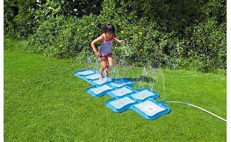 Disney Princess Hopscotch Sprinkler Mat - hopscotch