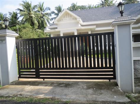 simple gate design  house philippines house front