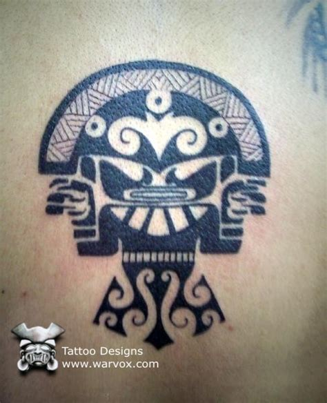 inca tribal tattoos tumi tribal aztec tattoos aztec mayan inca