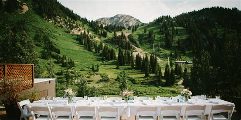 Wedding Venues In Utah by Alta Lodge Weddings Get Prices For Wedding Venues In