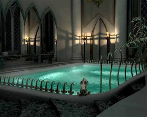 harry potter prefects bathroom prefects bathroom at night by pablete on deviantart