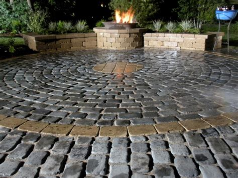 cobblestone pit 66 pit and outdoor fireplace ideas diy network
