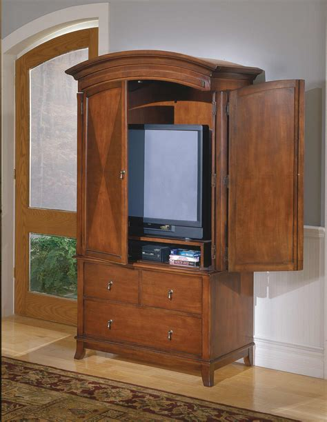 Tv Armoire by Homelegance Avalon Tv Armoire 954 7