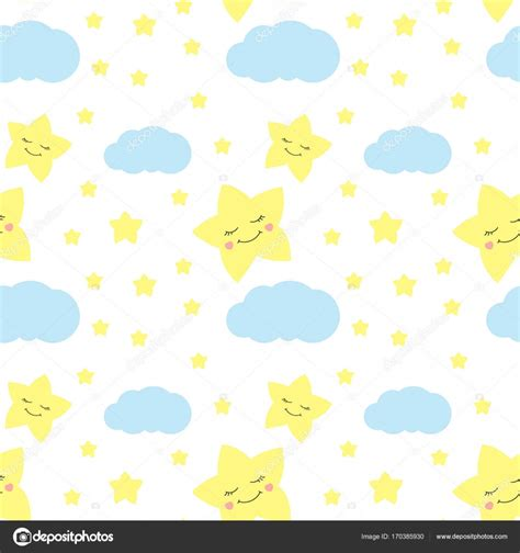 cute baby pattern stock vector image of horse collection cute baby star pattern vector seamless stock vector