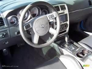 2008 Dodge Charger Srt8 Interior Slate Gray Interior 2008 Dodge Charger Srt 8