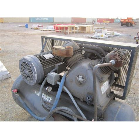 worthington horizontal 125 psi air compressor