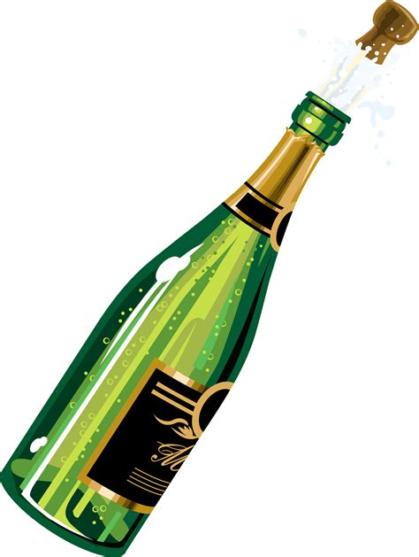 Champagne Bottle Clip Art   Cliparts.co