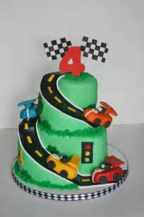 and everything sweet race car cake
