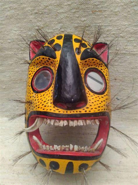 mexican jaguar mask jaguar mask naahua mexico catawiki