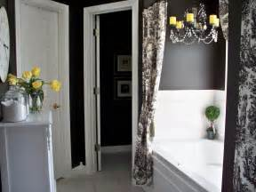 black and yellow bathroom ideas colorful bathrooms from hgtv fans bathroom ideas