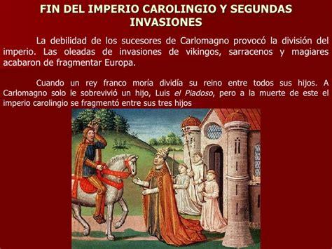 el imperio de los 8483462141 el imperio carolingio