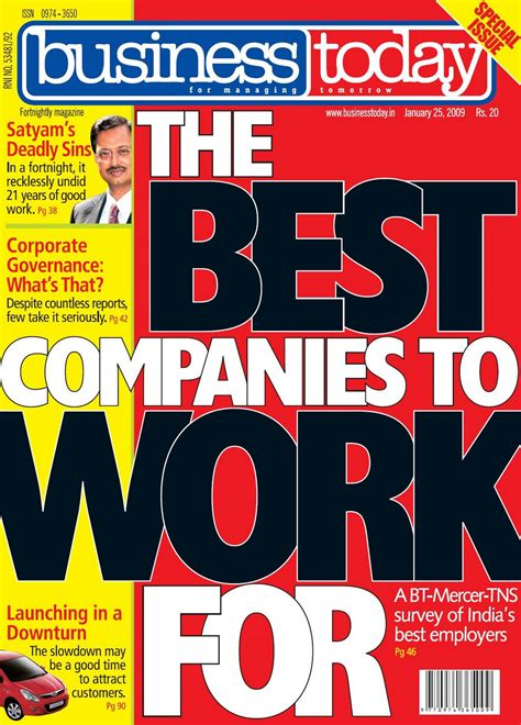 Top Mba Employers In India by Top Business Magazines In India Top 10 Companies In India