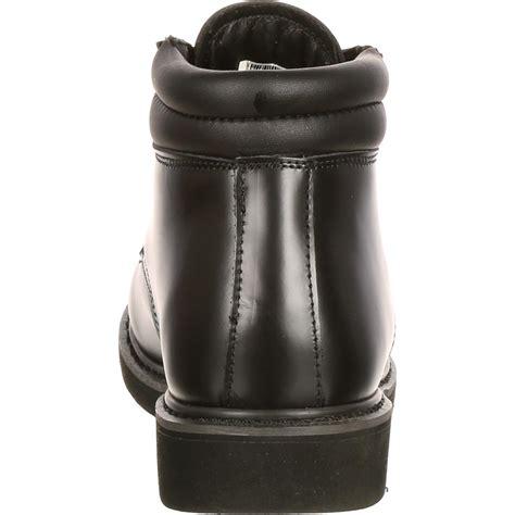 Dres Chika Black rocky polishable dress leather chukka boots fq00501 8