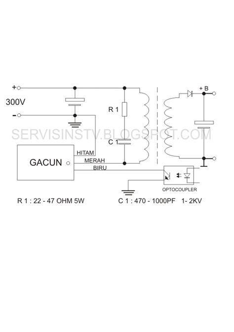 Gacun Str Atau Gacun 5 Kabel multi elektronik tegal tekhnik pemasangan regulator gacun