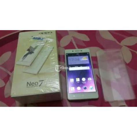 Hp Oppo Neo 7 Di Jawa Timur oppo neo 7 a33w bekas warna putih fisik mulus fullset original kota bekasi dijual tribun