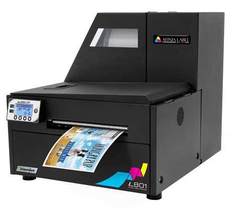 color label printer l801 industrial color label printer powered by memjet