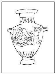 vaso greco da colorare disegnare un vaso greco cerca con disegni in
