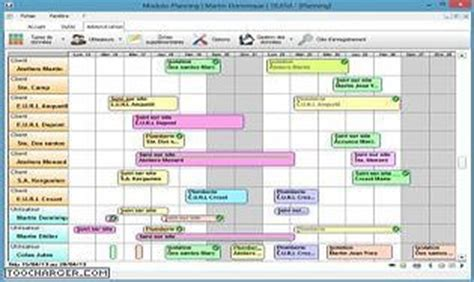 Calendrier 4x8 Modulo Planning T 233 L 233 Charger Gratuitement La Derni 232 Re Version