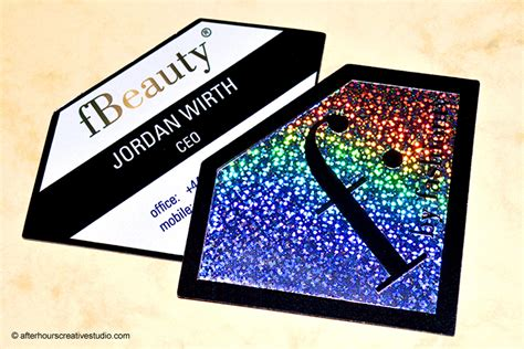 holographic cards templates free custom holographic business cards thelayerfund