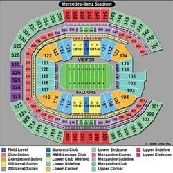 Mercedes Stadium Seating Chart Atlanta Falcons Tickets 2017 Atl Falcons Tickets