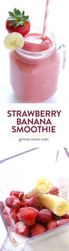 Strawberry Banana Detox Cleanse by 100 Strawberry Smoothie Recipes On Strawberry