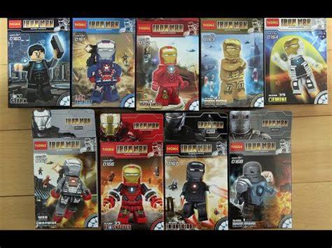 Lego Bootleg Ironman Minifigure 03 lego marvel superheroes iron 3 decool bootleg review