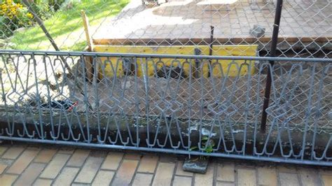 Gartenzaun Metall Gebraucht
