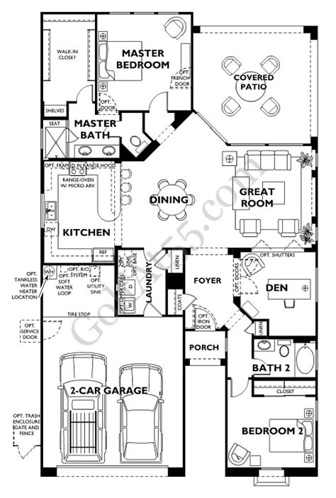 kickerillo floor plans continental homes floor plans arizona home plan