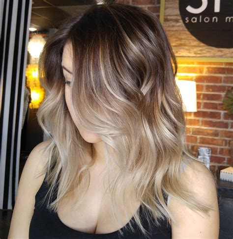 obre to grow out highlights growing out highlights ombre hairstylegalleries com