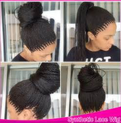 micro crochet hair havana crochet micro long twist braids hair synthetic lace