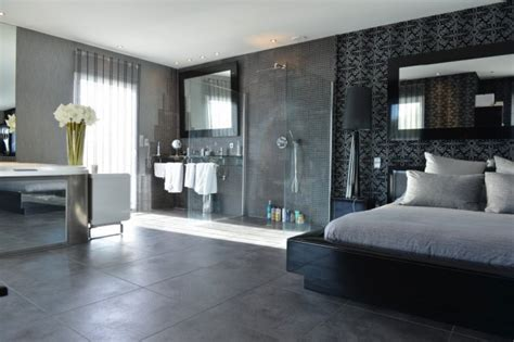 Open Bedroom Design Open Bedroom Design Open Plan Bedroom Bathroom Dressing Area Interior Design Ideas Open Plan