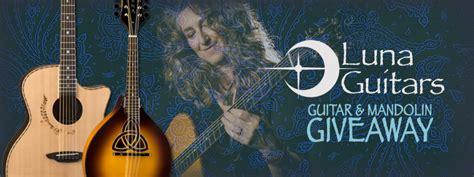 Mandolin Giveaway - luna guitar mandolin giveaway truefire