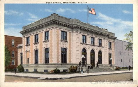 Marinette Post Office post office marinette wi