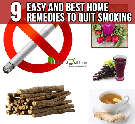 Best Way To Detox From And Cigarettes by 9 Easy And Best Home Remedies To Quit