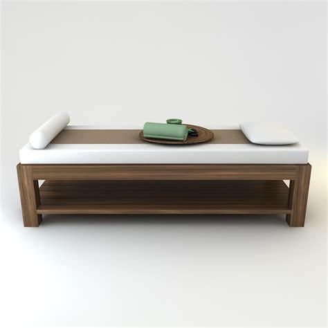 spa beds spa beauty saloon massage bed scene 3d models cgtrader com