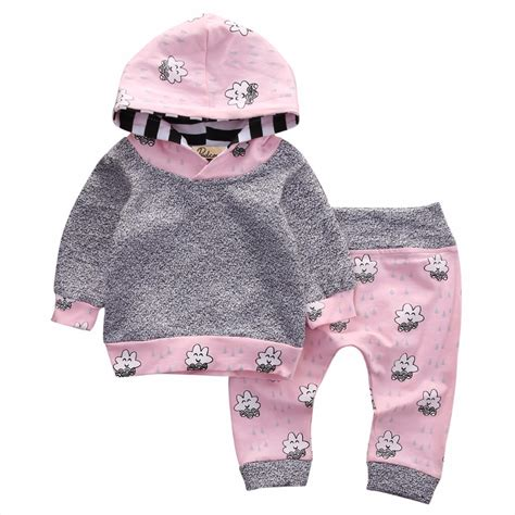 Jacket Smile Pink Grosir Sweater Baby Tery pink newborn baby clothes smile cloud bebes hooded top pant 2pcs autumn winter suit